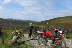Trail riding in the Isle of Man
